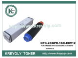 Compatible Black Toner Cartridge for GPR-16/NPG 26/C-EXV 12