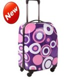 Pattern Luggage ABS+PC Trolley Bag with Spinner Wheels Luggage