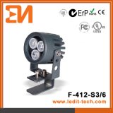 CE/EMC/RoHS 3W~6W LED Spotlight (F-412)