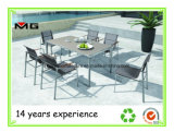 Hot Selling Stainless Steel Outdoor Dining Table Set