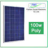 Hight Conversion Efficiency Solar Panel 100W