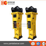 Top Quality Silenced Type Hydraulic Rock Breaker with Ce ISO Certified