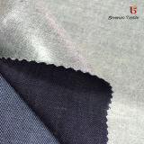 Breathable TPU Film Coating blue Indigo Spandex Cotton Denim Fabric