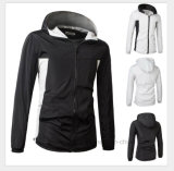Wholesale Outdoor Ladies Womans Light Weight Running Windbreaker
