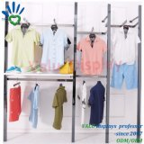 Stylish Stainless Steel Wall Hanging Clothes Rack for Fashion Women Men Garment