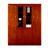 Modern Wooden Painting Office Book Storage Wholesale File Cabinet (HY-C0506)