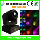 Disco Mini LED Moving Head Beam and Gobo Effect Light