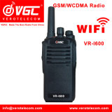 GSM Radio WCDMA SIM Card Walki Talkie with GPS Ham Two Way Radio