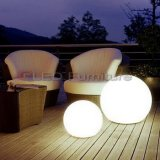 Plastic Material Outdoor Decoration Waterproof Color Changing LED Ball Furniture