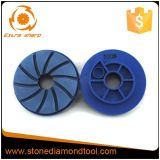 125mm Diamond Resin Edge Grinding Polishing Pad for Stone