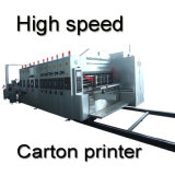 Automatic Carton Box Flexo Printing Slotting Die Cutting Machine High Speed