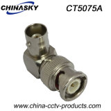 CCTV BNC Male to BNC Female Right-Angle Connector (CT5075A)