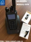 Low VHF Tactical Handheld Radio, Portable Radio in 37-50MHz/50-66/MHz 66-88MHz/30-88MHz
