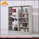 Library Book Furniture Double Side Face Steel Bookshelves Rack Jas-064