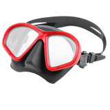Low Volume Tempered Glass Free Diving Mask