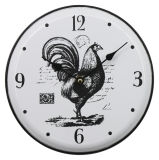 Small Size Farmhouse Design Iron Wall Clock