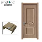 HDF MDF Melamine Finished Doors Cheap Wooden Plastic Door