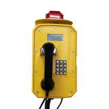 Waterproof Telephone Set Public Emergency LCD Display VoIP Cordedtelephone for Building