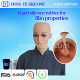 China Made Recycled Skin Tone Liquid Silicone Rubber for Film Properties