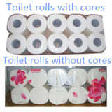 Toilet Tissue Paper Perforating and Rewinding Machine