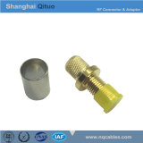 RF Connector SMA Straight Female Jack End-Tooth Crimp for -5dfb Cable (SMA-KYC-5D)