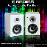 80-Watt Compact Studio Monitor Speakers with 4-Inch Woofer (Pair) and Powered Amplifier for Home Studio Monitor System