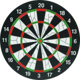 Portable High Quality Flocked Dartboard