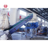 Waste Plastic PE LDPE Film/HDPE Bottle/PP Woven Bag Raffia Recycling Washing Machine