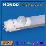 1200mm 100-120lm/W Ce RoHS Approval 18W T8 LED Tube with IR Motion Sensor for Corridors & Stairs& Basement