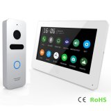 Memory Touch Screen Home Security 7 Inches Video Door Phone Intercom