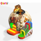 Dinosaur Egg Bouncy House Combo Inflatable Jumping Trampoline