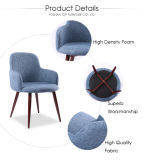 Top Furniture Leisure Modern Padded Cafe Furniture Chairs for Cafe