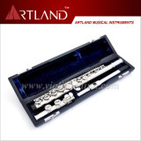 16 Closed Holes Silver Plated Standard Flute (AFL5506)