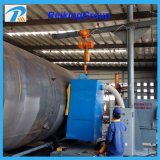 Customized Shot Blasting Machine Steel Pipe Surface Cleaning