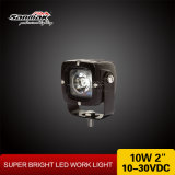 Square CREE 10W LED Work Light for Truck Mining