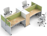 Modern MDF Wood Office Furniture Office Computer Table Desk Design Made in China Guangzhou Supplier