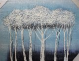 Decorative Trees on Oil Painting