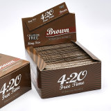 14GSM Transparent 1 14 Size Hemp Rolling Paper with Filter