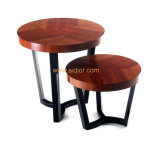 (CL-5517) Classic Hotel Restaurant Public Furniture Wooden Coffee Table