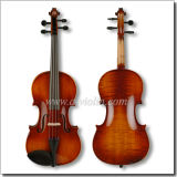 Flamed Violin Fiddle with Case, Universal Violin Outfit (VM140)