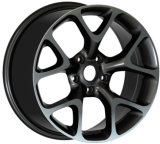 Car Alloy Wheel Black Machined Lip 5X120 5X112 4X100 5X114.3