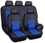 Universal 9PCS Full Set Soft PU&Leather Auto Car Seat Cover