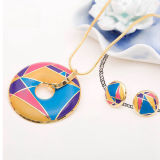 High Polish Enamel 925 Sterling Silver Jewelry Set
