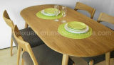 Solid Wooden Dining Table Living Room Furniture (M-X2405)