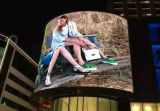 P16 Commercial LED Advertising Displays for Curved Design
