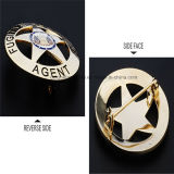 Zinc Alloy High Quality Police Badge Pin
