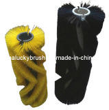 PP Material Black Road Sweeper Cleaning Brush (YY-022)