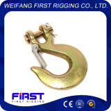 Chinese Manufacturer of High Quality G80 Clevis Slip Hook with Latch