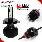 12V Super Power 80W LED Car Driving Light 6k H4 Bright LED Car Light with 4 Sides COB Chips