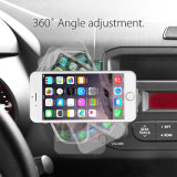 2017 Low MOQ Universal Colorful Air Vent Mobile Cell Phone Car Mount Holder for Smartphone
